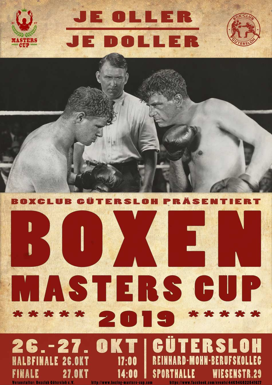 Boxing Masters Cup